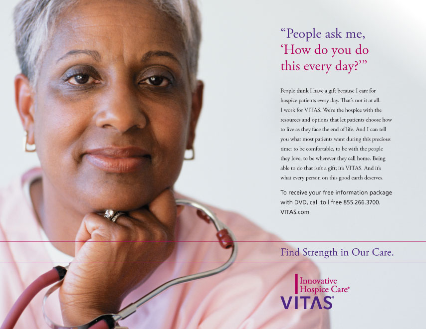 VITAS Consumer Ad With Nurse